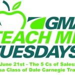 Teach Me Tuesday – The 5 Cs of Sales