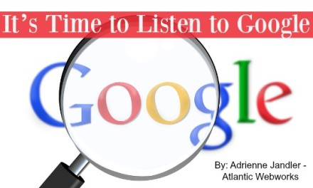 It's Time to Listen to Google