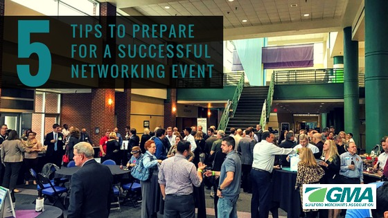 Five Tips to Prepare for a Successful Networking Event
